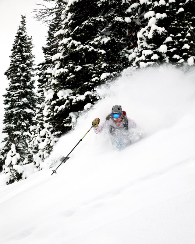 New Powder - Backcountry Skiing in the Tetons Photo: Andy Bardon