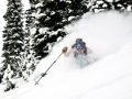 New Powder - Backcountry Skiing in the Tetons Photo: Andy Bardon