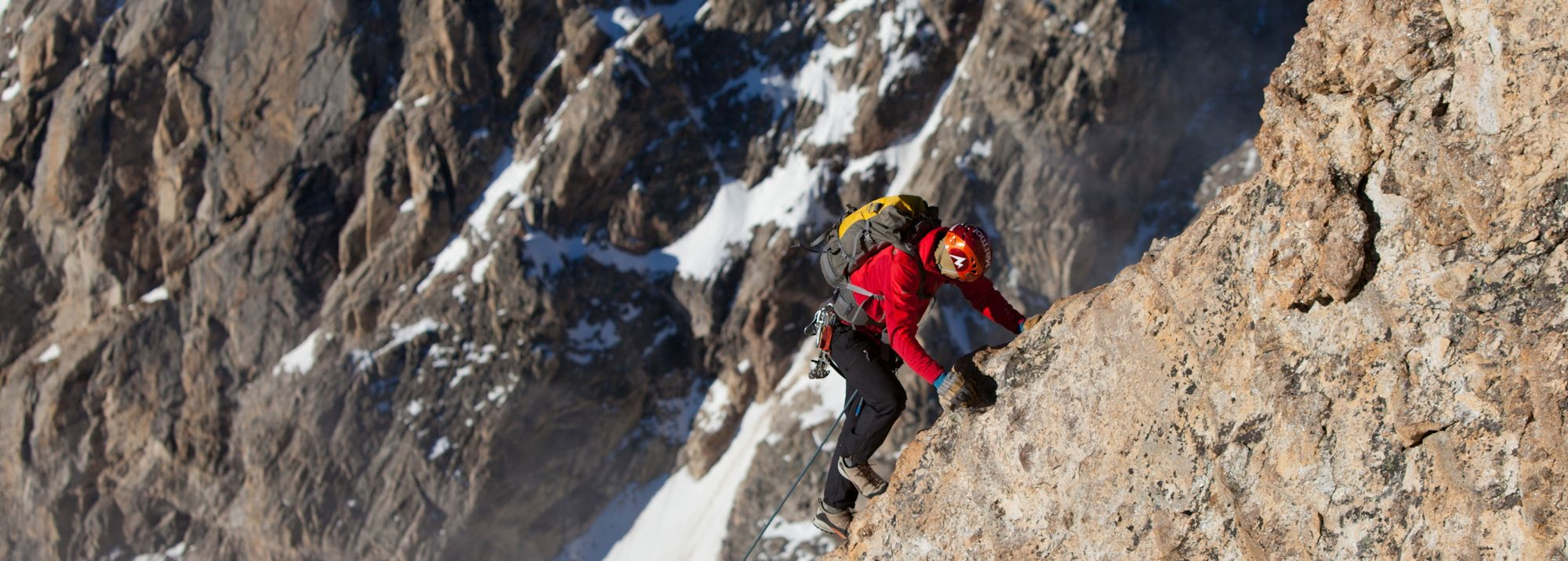 The Friction Pitch on the Exum Ridge – Photo: Weston Walker