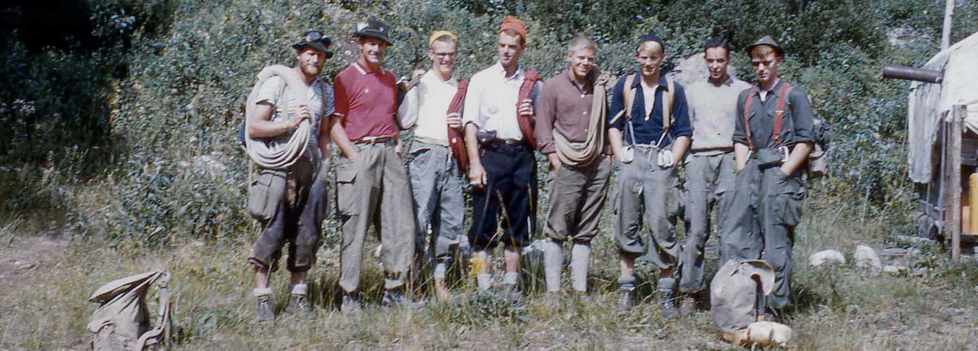 Over 80 years of Guiding History – Photo:  Exum Collection
