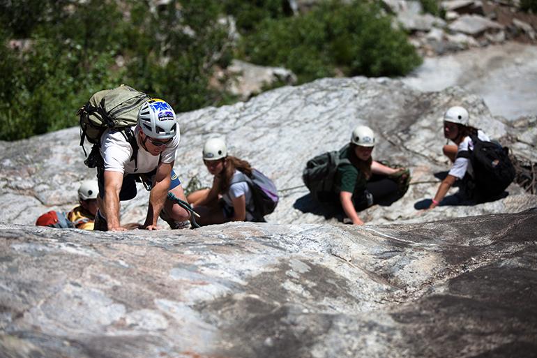 Multi-Pitch Climbing – Level I