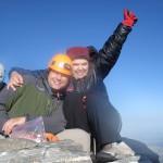 Jared and Joanna on the Summit of the Grand Teton