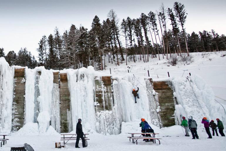 The EXUM Ice Park