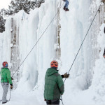 The Exum Ice Park  Photo: Exum Collection