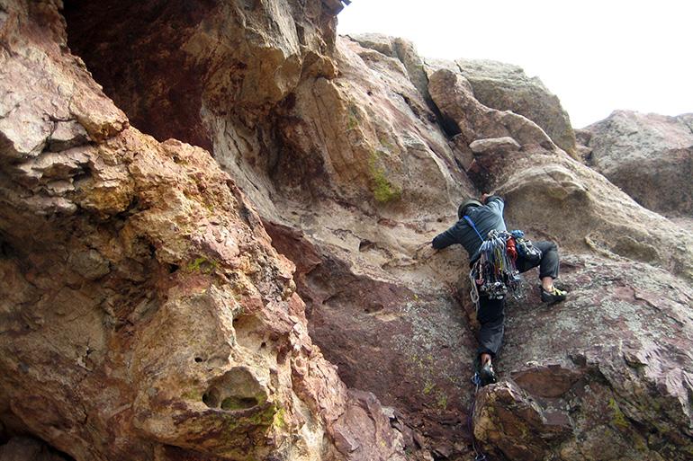 Boulder Climbs