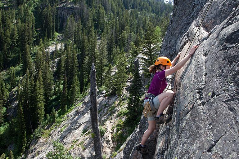 Multi-Pitch Climbing – Level II