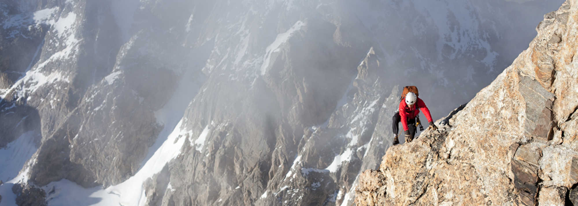 The Exum Ridge on the Grand Teton – Photo: Andy Bardon
