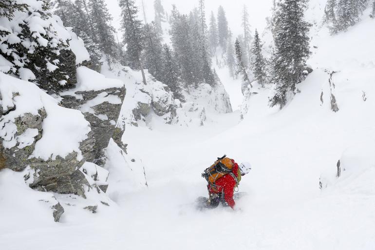 Splitboard Mountaineering Clinic